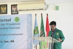 Sambutan ketua pelaksana Yudisium Fakultas Biologi