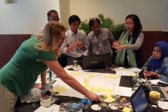 diskusi mengenai kelestarian laut proyek blue communities