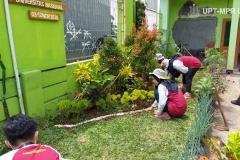 Kegiatan Pembuatan Taman di Balai Desa