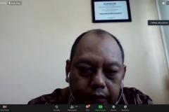 Sambutan dari Ketua Prodi Ilmu Komunikasi, Adi Prakosa, M.Si.