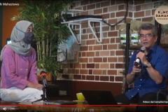 Meka Yolanda Zahra  dalam kegiatan Konco Talk