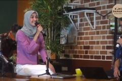 Meka Yolanda Zahra  dalam kegiatan Konco Talk (2)
