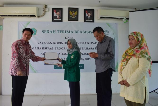 Korindo Berikan Beasiswa Bagi Mahasiswa ABANAS Berprestasi (6)