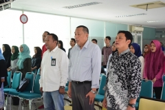 KPU DKI JAKARTA SOSIALISASIKAN PEMILU DIKAMPUS UNAS (1)