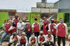mahasiswa fakultas pertanian program studi Agroteknologi yang tergabung fdalam kegiatan KKL di Undrus Binangun, Kadudampit, Kecamatan Sukabumi, Jawa Barat