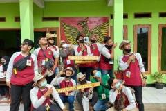 mahasiswa fakultas pertanian yang mengikuti program KKL di Undrus Binangun, Kadudampit, Kecamatan Sukabumi, Jawa Barat.