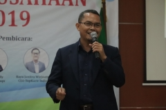 Kepala Inkubator Bisnis Wirausaha Mandiri  Universitas Nasional Drs. Suadi Sapta Putra, M.Si., M.Si.M