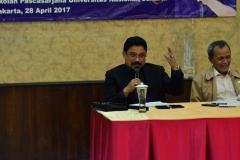 H. Zulfan Lindan saat seminar umum