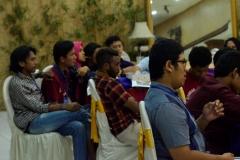 Mahasiswa yang mengikuti seminar