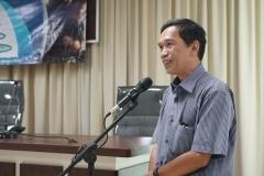Ketua Program Studi Magister Biologi Dr. Tatang Mitra Setia, M.Si
