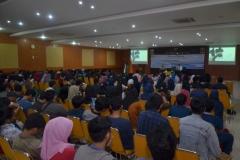kemeriahan peserta seminar