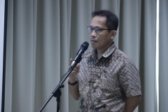 Ketua Program StudiMagister Ilmu Admimistrasi Publik Drs. Rusman Ghazali, M.Si., Ph.D.