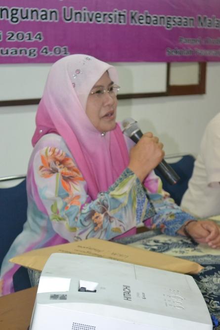Keynote speaker pada kuliah umum