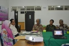 Para pembicara kuliah umum ukm malaysia