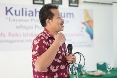 Dekan Fakultas Bahasa dan Sastra Drs Somadi, M.Pd