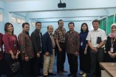 Foto bersama perwakilan BRI, dan staff UNAS