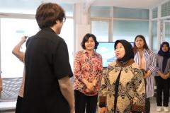 Prof. Erna Berbincang dengan Delegasi King Sejong Institute