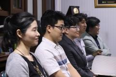 Delegasi dari King Sejong Institute Foundation dan Daegu Catholic University