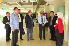 Rektor UNAS & delegasi universitas Sultan Zainal Abidin Terengganu