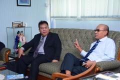 Rektor UNAS & delegasi universitas terengganu