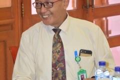 Direktur Akparnas Eddy Guridno, S.E., M.Si.M. memaparkan tentang Akparnas