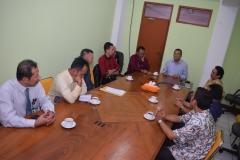 diskusi kunjungan kerjasama
