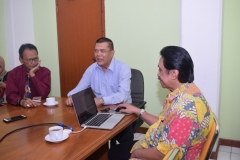 diskusi AKPARNAS dengan BP PRO