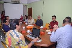 diskusi kunjungan kerjasama LSM Pariwisata Archipelago