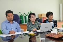 Perwakilan Unas Menerima kunjungan dari Nanjing University of china