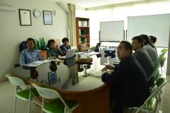 Rapat terbatas kunjungan Nanjing University of China