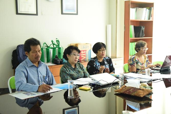 suasana saat pertemuan antara Unas dan Nanjing University