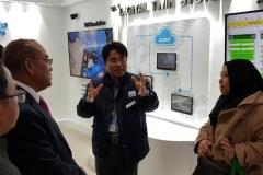 Rektor UNAS mengunjungi Smart Factory TELSTAR HOMMEL dikawasan industri Korea. Ini adalah perusahaan yg sdh menerapkan 100 % Revolusi Industri 4.0 (1)