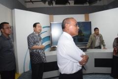 Kunjungan Rektor Unas ke Studio Edu Inkor di Bambu Kuning (1)