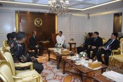 pertemuan para petinggi UNAS dengan Ketua DPR RI