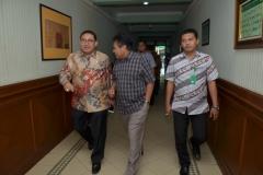 Dr. H. Fadli Zon, S.S., M.Sc. (Wakil Ketua DPR RI) tiba di Universitas Nasional (3)