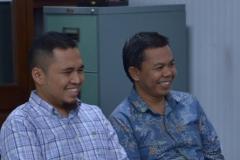 Saat Berbincang-bincang di Ruang Rektorat Universitas Nasional (2)