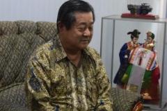 Bapak Mulia Wijaya dari yayasan korindo