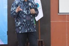 presentasi materi oleh Kepala Biro Kemahasiswaan Unas, Kamaruddin Salim, S.Sos., M.Si. (2)