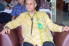 Direktur Akparnas (Eddy Guridno, S.E., M.Si.M.) Saat sampai di Aula