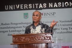 Sambutan Rektor Universitas Nasional (Dr.Drs. El Amry Bermawi Putera, M.A) (2)