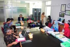 Lembaga Penelitian dan Pengabdian Kepada Masyarakat (LPPM) Menyelenggarakan Monitoring dan Evaluasi (Monev) di UNAS (6)