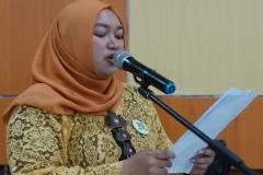 Master of Ceremony kegiatan Lokakarya Nasional