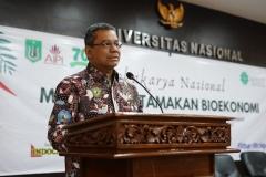 Sambutan oleh mentri Keuangan RI yang diwakili oleh Prof. Dr. Suahasil Nazara