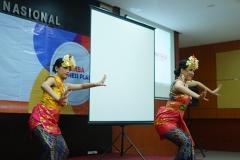 Tari Kecak Bali pada acara perlombaa bisnis plan