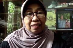 Wakil Rektor Bidang Penelitian dan Pengabdian pada Masyarakat Prof. Dr. Ernawati Sinaga, M.S., Apt. saat memberikan sambutan dalam Pelatihan Dasar Komunikasi & Community Development, di Jakarta, Selasa, (19/5).