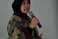 Wakil Rektor Bidang Penelitian dan Pengabdian pada Masyarakat Prof. Dr. Ernawati Sinaga, MS.Apt