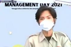 """pada acara Management Day 2021 dengan Sambutan Ketua Umum HIMAJEM FEB UNAS Muhammad Firdaus pada acara Management Day 2021 dengan tema """"Mengeratkan Solidaritas dan Mengaktualisasikan Karakter Diri"""" diselenggarakan oleh HIMAJEM FEB UNAS pada Sabtu, 9 Oktober 2021"""