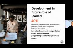 """Pemateri kedua Professional Speaker dan Direktur PT Indonesia Ferry Property Riza Perdana Kusuma pada acara Management Day 2021 dengan tema """"Mengeratkan Solidaritas dan Mengaktualisasikan Karakter Diri"""" diselenggarakan oleh HIMAJEM FEB UNAS pada Sabtu, 9 Oktober 2021"""