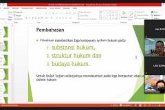 Ketua-Program-Studi-Magister-Hukum-Sekolah-Pascasarjana-UNAS-Dr.-Rumainur-S.H.-M.H-dalam-memberikan-materinya