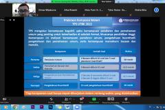 Penyampaian materi oleh Konsultan Seleksi Nasional Masuk Perguruan Tinggi Negeri (SNMPTN) & SBMPTN Primagama Agus Gatot Aries Munandar, S.Pd.